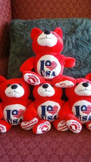 "(4.) 5.6"" teddy bears for Sale in Milwaukie, OR"