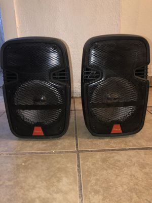 8 inch Bluetooth speakers for Sale in Calexico, CA