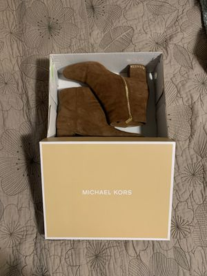 Michael Kors Suede Bootie for Sale in Freeburg, IL
