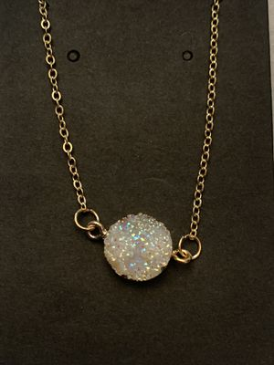 Real Crystal pendant necklace for Sale in Ashburn, VA