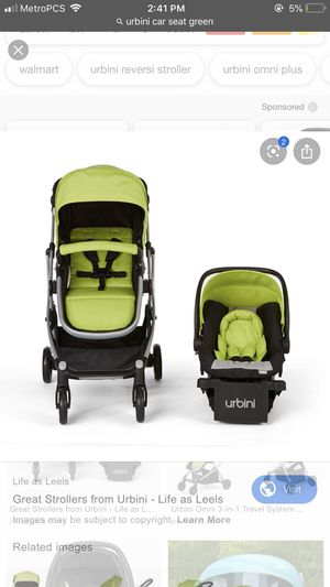 Urbini car seat and stroller set for Sale in Seattle, WA