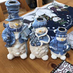 Snowman Candle Holders for Sale in Bay Shore, NY