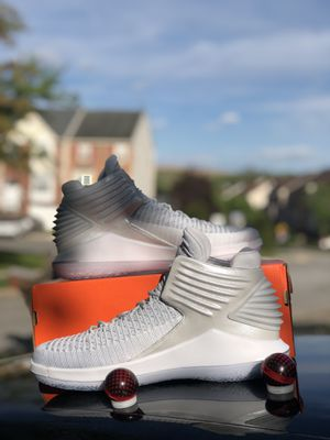 Nike Air Jordan XXXII 32 Mens Size 10.5 Basketball Shoes Platinum AA1253 007 for Sale in Fort Washington, MD
