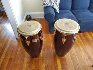 """LP classic top tunning congas 11"""" and 11 3/4"""" dark red for Sale in Hartford, CT"""