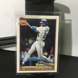 1991 Topps Ken Griffey Seattle Mariners #790 Baseball Card for Sale in Hillside,  IL