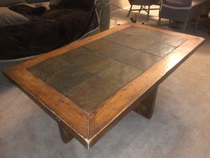 Great condition hard wood table! for Sale in Tucson, AZ