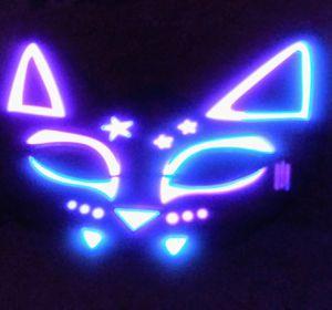CAT EYE LIGHT UP&MUSIC HALLOWEEN MASK for Sale in Glendale, AZ