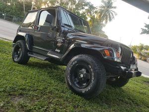 2002 jeep wrangler Sahara for Sale in Miami, FL