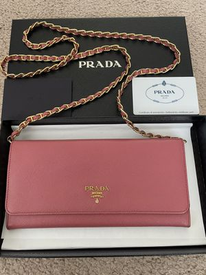 Prada wallet in chains for Sale in Tustin, CA