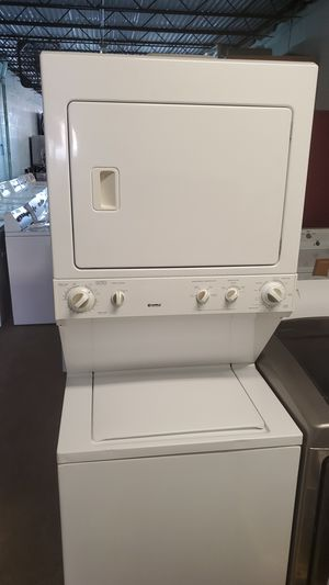 Kenmore Stackable Washer and Dryer 30 Day Warranty Nice And Clean Tested And Ready To Go Delivery Available For A Small Trip Charge for Sale in Ocean Ridge, FL