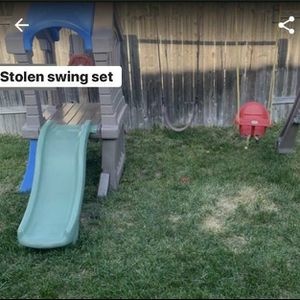 Stolen Little Tikes swing set and slide for Sale in Fontana, CA