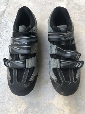Men's Specialized Mountain Bike Shoes (47) and Shimano Clips for Sale in Fort Lauderdale, FL