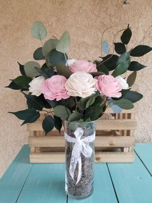 Pink WOOD Rose mix for Sale in Beaumont, CA