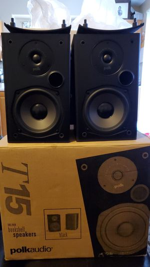 Polk Audio T15 bookshelf speaker (pair) for Sale in North Las Vegas, NV