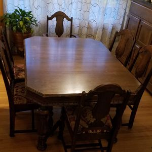 Antique Dining Room Set for Sale in Mount Prospect, IL