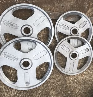 Olympic Weights Plates - Pairs 45s and 35s for Sale in Kailua, HI