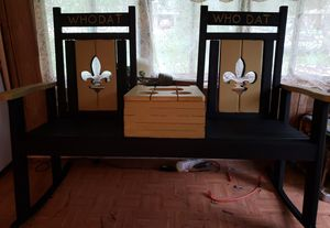 Hand Crafted Double Saints Rocker for Sale in New Roads, LA