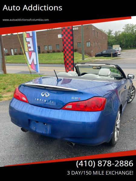 2009 Infiniti G37S! 83K Miles! HardTOP CONVERTIBLE! All credit Situations accepted! Act fast or it wont last! Low miles!