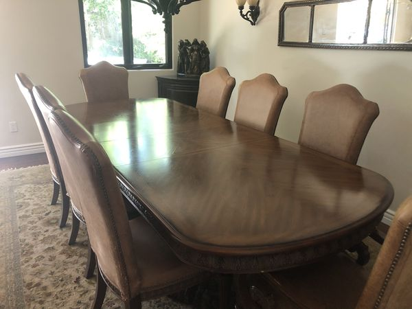 Italian Dining Room Table and Chairs