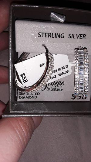 Sterling silver ear rings for Sale in Little Rock, AR