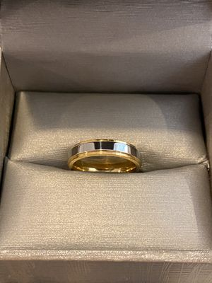 Unisex 18K YELLOW/WHITE Gold plated Ring—Code CJS58 for Sale in Baltimore, MD