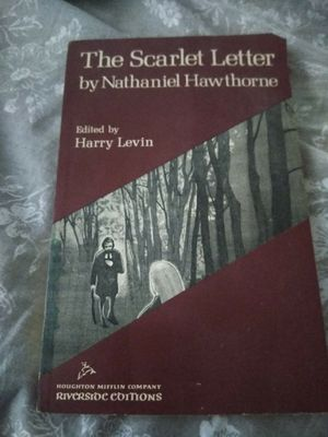 The scarlet letter by Nathaniel Hawthorne Riverside editions 1960 for Sale in Newnan, GA