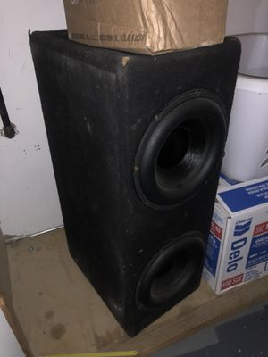 2 10s and box for Sale in Turlock, CA