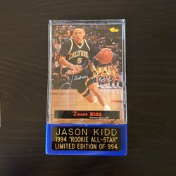 1996 Jason Kidd Rookie Card Autograph With COA for Sale in Oakley,  CA