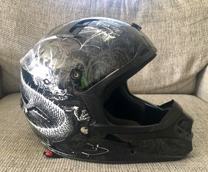 Fox Racing V1 Pilot Helmet Dirt Bike Motorcycle ATV Size L 59-60cm for Sale in Fresno, CA