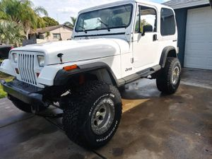 91 jeep yj trade for truck for Sale in FL, US