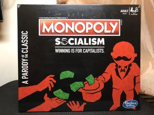 Monopoly Socialism Board Game Parody Adult Party Fun Brand New Sealed for Sale in Brooklyn, NY