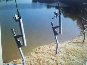 New Hooker automatic fish hooking rod holders for Sale in Houston, TX