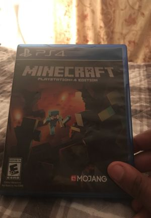 Minecraft Disk for PS4 for Sale in Silver Spring, MD