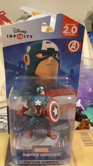 Superhero Captain American and it's box brand new and good condition. for Sale in Auburn, WA