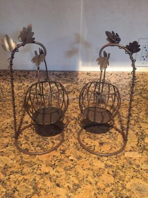 Fall decor candle holders for Sale in San Diego, CA