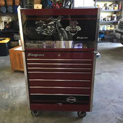 Snap On Harley Davidson 90th Anniversary Tool Box w/tools for Sale in Renton,  WA