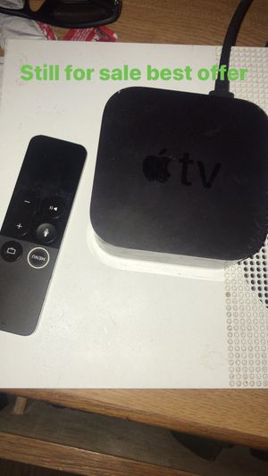 Apple TV box for sale 150 for Sale in Cleveland, OH