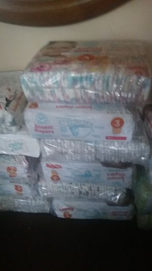 Baby diapers you can see the brand on them and they are size is 1 through three inbox me for Sale in Roanoke, VA