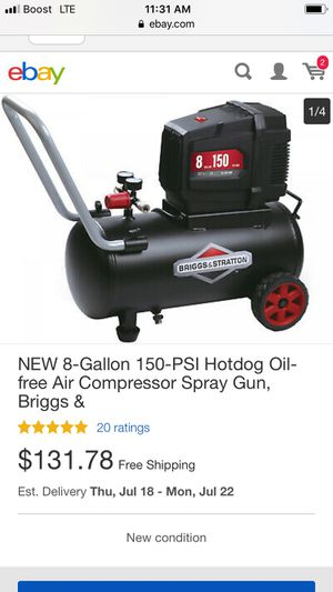 Briggs & Stratton Air Compressor for Sale in Atlanta, GA