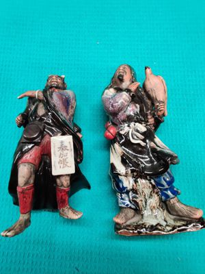 Antique Japanese porcelain warriors for Sale in Tampa, FL