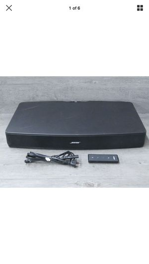 Bose Solo TV Soundbar Sound System with Remote Control for Sale in Lynnwood, WA