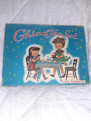 *Vintage* Toy China tea set, Complete set for Sale in Ypsilanti, MI