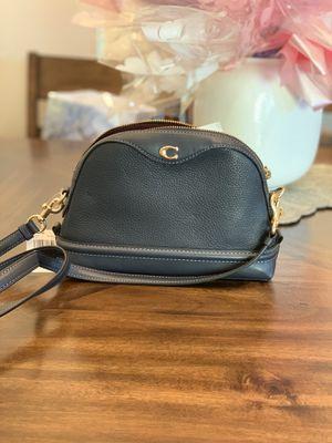 Coach mini satchel C logo Shoulder bag Navi blue for Sale in Temple City, CA