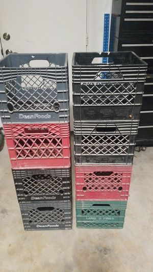 Milk Crates for Sale in Seabrook, TX