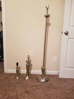 Table lamps matching set for Sale in Pittsburgh, PA