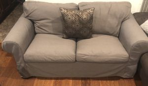 Gray ikea sofas set like new for Sale in San Jose, CA