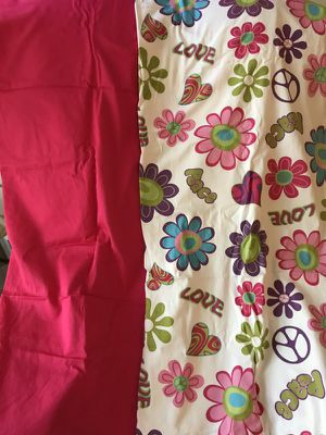 """Beautiful Pink, White/Multicolor Drapes - 84"""" x 41"""" (2 each) for Sale for sale  Brooklyn, NY"""