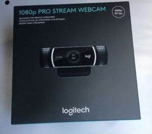 Logitech 1080p PRO STREAM WEBCAM for Sale in Kissimmee, FL