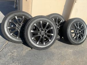 16 inch Mazda rims and Ohtsu tires, all in great condition! $500 OBO for Sale in Anaheim, CA
