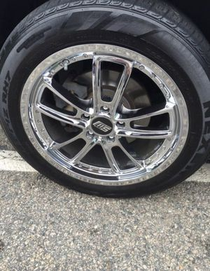 18 inch chrome rims | set of 4 | NO TIRES for Sale in Hull, MA